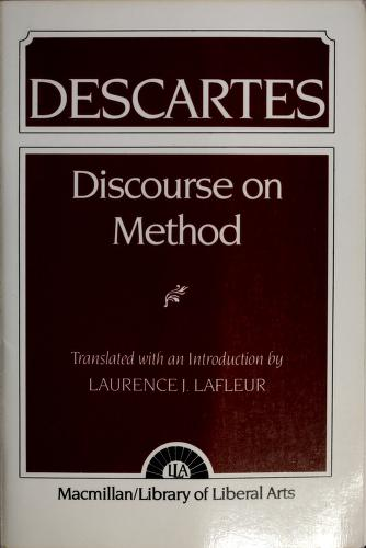 Cover of: Discourse on method | René Descartes